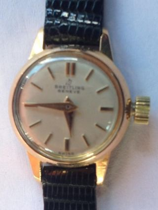 Breitling Watch Ladies Ref.  6751 Vintage 1958 Bild