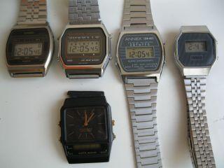 5 Herren,  Damen Armbanduhren Quarzt (casio,  Dugena,  Mbo,  Annex) Bild