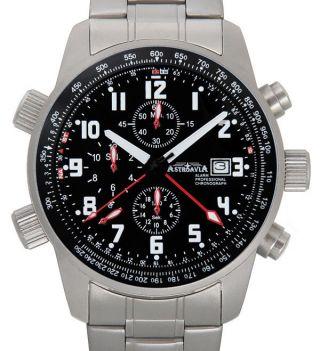 Tc71sl,  Astroavia,  Alarm,  Chronograph,  Wecker,  Flieger Uhr,  Military Watch Bild