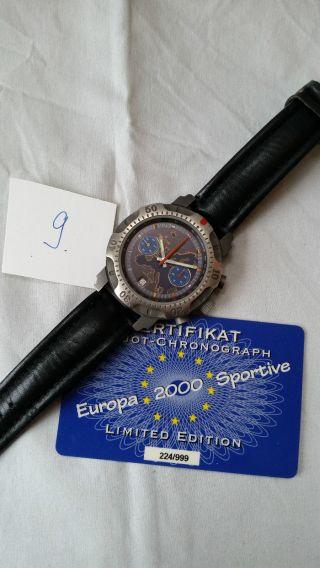 Poljot Russland Chronograph MilitÄr Handaufzug Cal.  3133,  Zertifikat (9) Bild