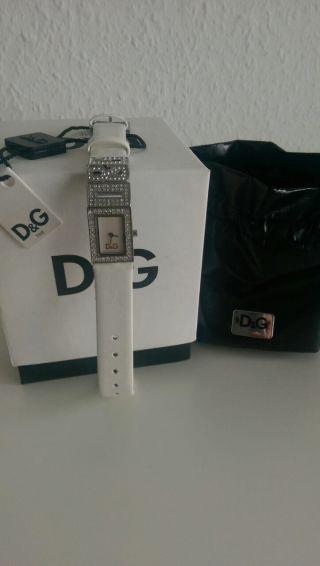 D&g Dolce&gabbana Damen - Armbanduhr Shout Mit Etikette Bild