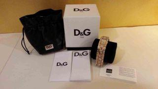 Dolce Gabbana Damen Armbanduhr C ' Est Chic Gold Bild