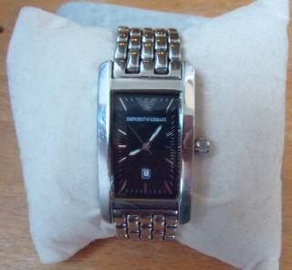 Emporio Armani Damen Uhr Edelstahl Bild
