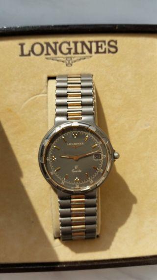 Longines Armbanduhr Gold / Silber Bild