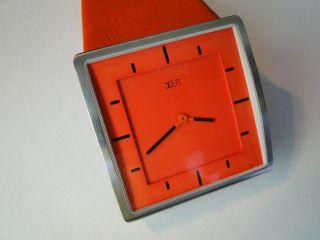 Dau - Xen - Damenuhr Armbanduhr Damen Damenarmbanduhr Orange - Wie Bild