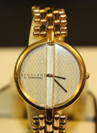 Longines Rodolphe Uhr Damen Quartz Bild