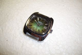 Geneve Automatic Kal.  Durowe 7522/3 Alte Herren Armbanduhr 70 ' Er J.  Gt.  Zust. Bild