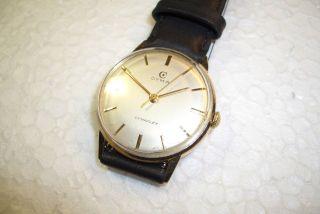 Cyma Cymaflex Alte Herren Armbanduhr 50 ' Er Jahre Werkskaliber 459. Bild