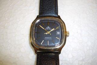 Meister Anker Automatic Alte Herren Armbanduhr 70 ' Er J.  Kal.  Fe 4611a. Bild