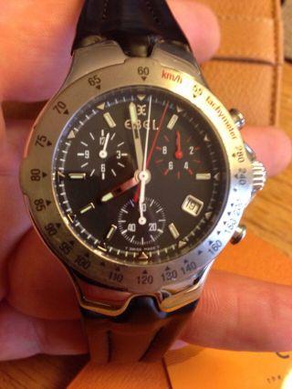 Gebrauchte Ebel Sportwave Chronograph Uhr In Stahl Quarz 40mm Bild