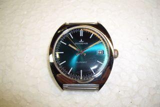Dugena Classic Alte Herren Armbanduhr 70 ' Er Jahre Kal.  Durowe 7422 - 2 Gebr.  Zust. Bild