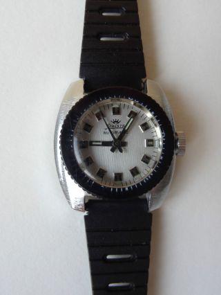 Alte Armbanduhr Foresta Automatic Originales Armband Uhr Bild