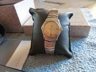 Ebel Classic Wave 9090f24 - 24725 Armbanduhr Für Damen Bild