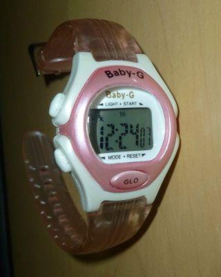 Casio Baby - G Shock Uhr Rosa Läuft Bild