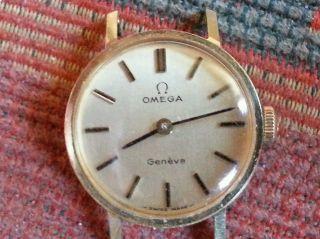 Omega Damen - Uhr 14ct Bild