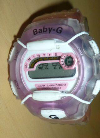 Casio Baby - G Uhr Rosa Wr30m 820 Läuft Bild