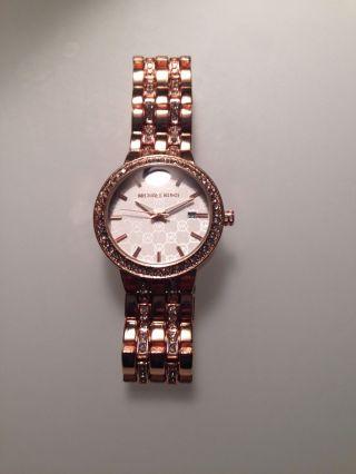 Michael Kors Mk1128 Damenuhr Armbanduhr Rosegold Bild
