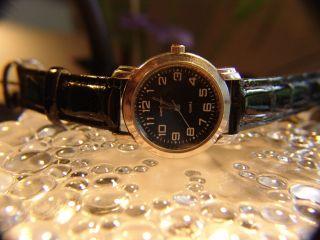 Damen Armbanduhr Weinberger Ø 3,  6 Cm,  Nickel Neue Batterie Top Läuft Genau Bild