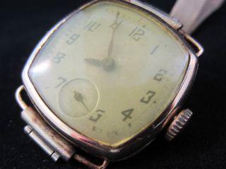 Antike Omega 18 Karat Damenuhr Armband Uhr Taschenuhr Stil 750 Gold Gehäuse Bild
