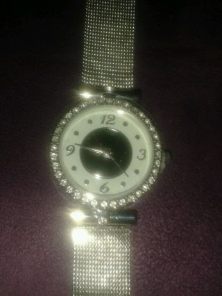 Damen Armbanduhr Silber Bild