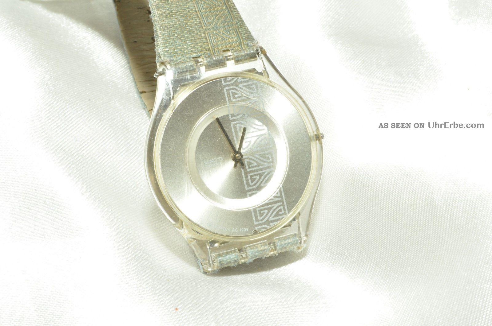 superflache swatch armbanduhr einer der flachsten uhren. Black Bedroom Furniture Sets. Home Design Ideas
