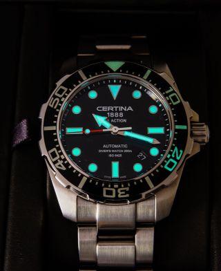 Wunderschöne Certina Ds Action Automatic Diver Neuwertig Bild
