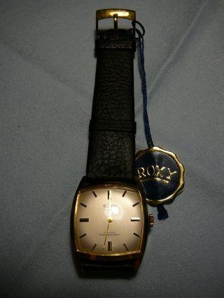Roxy Anker 17 Rubis Herren Armbanduhr Vintage,  Ab 1€ Bild