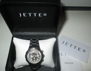 Jette Joop Damenuhr Mit Uhrenbox Chronograph Bild