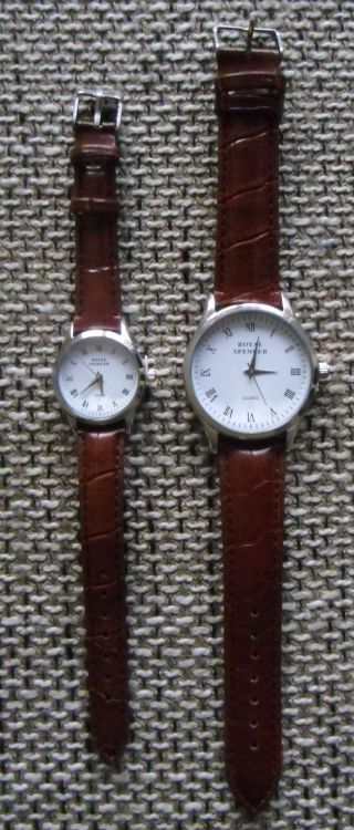 Royal Spencer Partneruhren Armbanduhr Für Sie Und Ihn Mit Ovp Bild