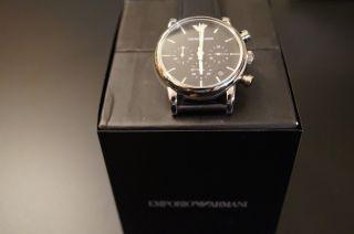 Emporio Armani Ar1733 Herrenuhr Chronograph - Klassisch/elegant Bild