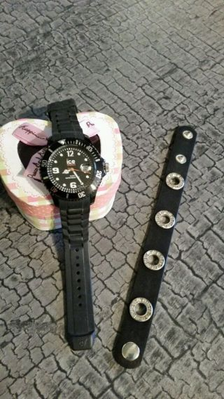 Ice - Watch Ice - Classic Ice - Solid Armbanduhr Für Unisex Schwarz Mit Armband Bild