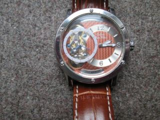 Exclusive Graf Von Monte Wehro Automatic Armbanduhr