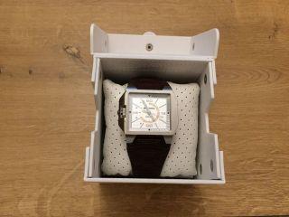 Armbanduhr Diesel Dz 1267 Uhr Chronograph Herren Leder Watch Bild