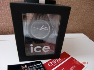 Ice Watch Slim In Schwarz Mit Bild