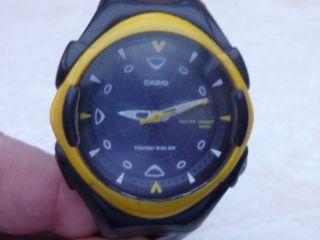 Casio Tough Solar Herren Armbanduhr Bild