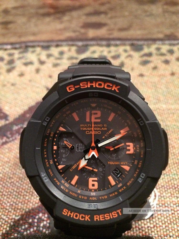 Casio G - Shock Gw - 3000b - 1aer,  Pro Trek Armbanduhren Bild