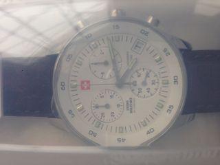 Swiss Military Sm30052.  04 Chronograph 5 Atm,  41 Mm Bild