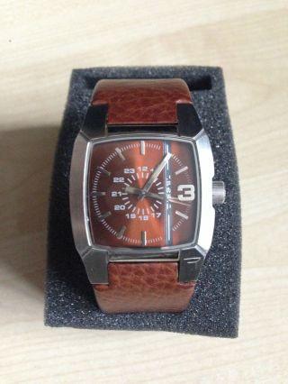 Diesel Uhr Herren Herrenuhr Watch In Braun Bild