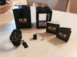 Ice - Watch Sili Unisex Si.  Bk.  U.  S.  09 Bild
