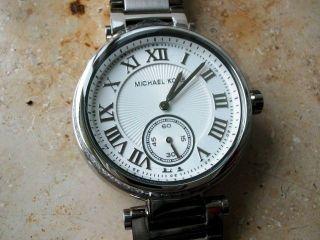 Michael Kors 5866 Damen Uhr,  Steine,  Stahlgehäuse/armband,  Neuwertig Bild