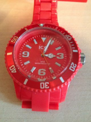 Ice Watch Rot Bild