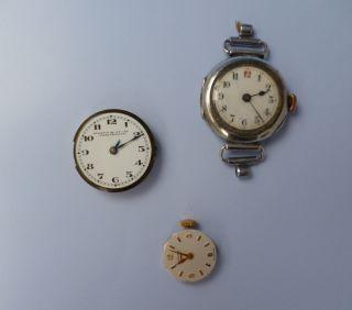 Antiquitäten 1 Damenarmband - Uhrwerk Von Longines,  Uhrwerk U.  Armbanduhr - Damen Bild