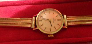 Omega Damenuhr 585 Gold Mit Ovp (19) Bild