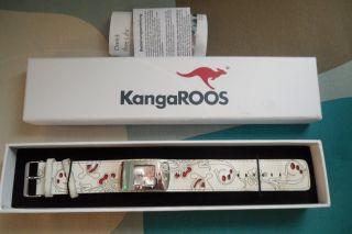 ღ♥ Weihnachten,  Armband,  Uhr Von Kangaroos Mit Lederarmband ღ♥ Bild