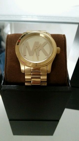 Michael Kors Damenuhr Gold 5473 Bild