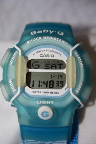 Casio Baby - G Armbanduhr,  Hellblau Bild
