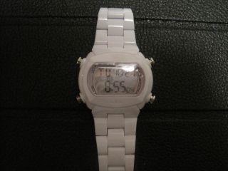 Adidas Unisex Uhr Weiss Herren,  Damen,  Jugentliche Armbanduhr Digital Bild