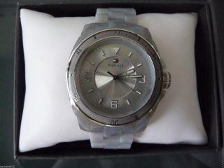 ♥ Tommy Hilfiger ♥ Damen Uhr,  Wasserdicht,  Silber,  Weihnachtsgeschenk Bild