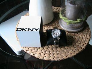Dkny Damenuhr,  Chronograph,  Sportl.  /elegant Bild