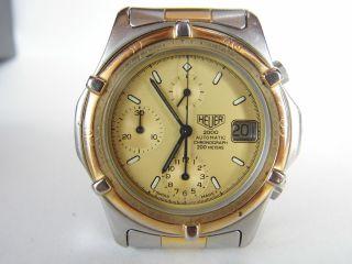 Herrenuhr Tag Heuer Automatic Chronograph Heuer 2000 Eta / Lwo Modul,  Heuer - Box Bild